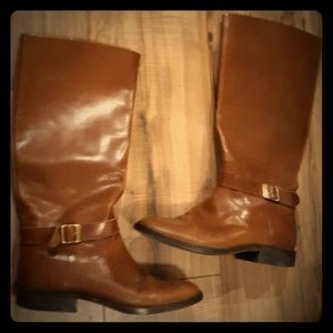 Vintage Tacco Made in Germany Leather Boots. Sz 9